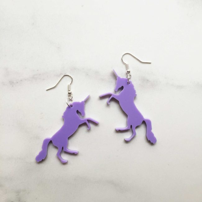 Yaseed Unicorn earrings