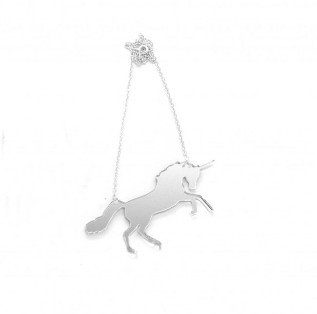 Yaseed Unicorn double pendant